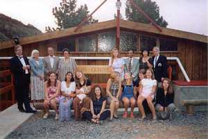 The opening of the Bahá'í Centre in the Gumwoods, 22 June 1998
