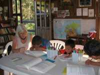 Children's class at the Bahá'í Centre (2008)